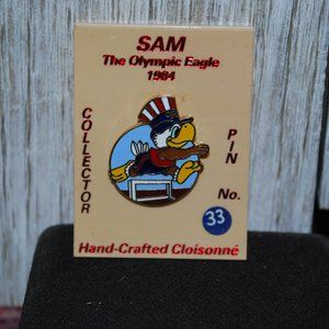 Jewelry - Sam the olympic eagle set of 5 1984